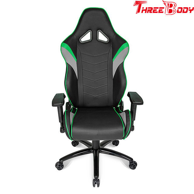 Big Tall Office Racing Gaming Chair High Back Height Adjustable Armrest Fire - Retardant