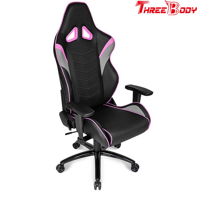 Ergonomic  Racing Gaming Chair 180 Degrees Adjustable Seat  Height Lifting Function