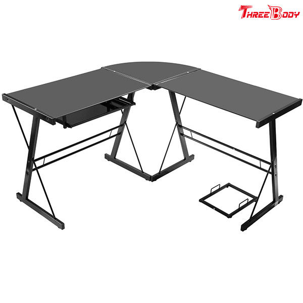 Computer Modern Office Table L Shaped Corner Desk Commercial Office Furniture
